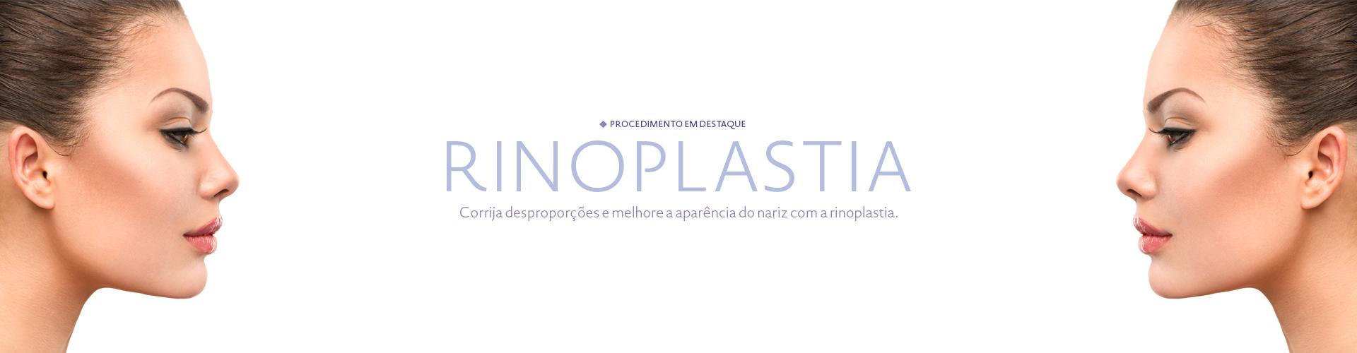 Procedimento em destaque - Rinoplastia