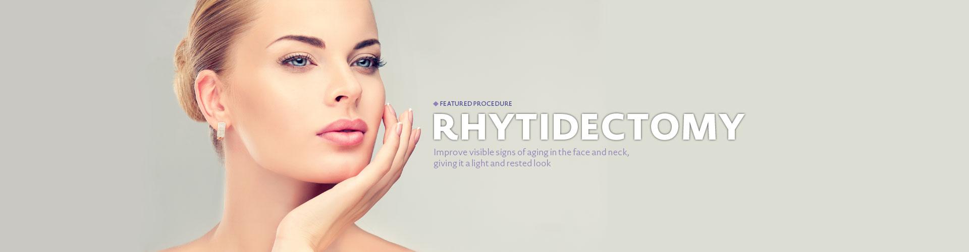 Rhytidectomy - Featured procedure